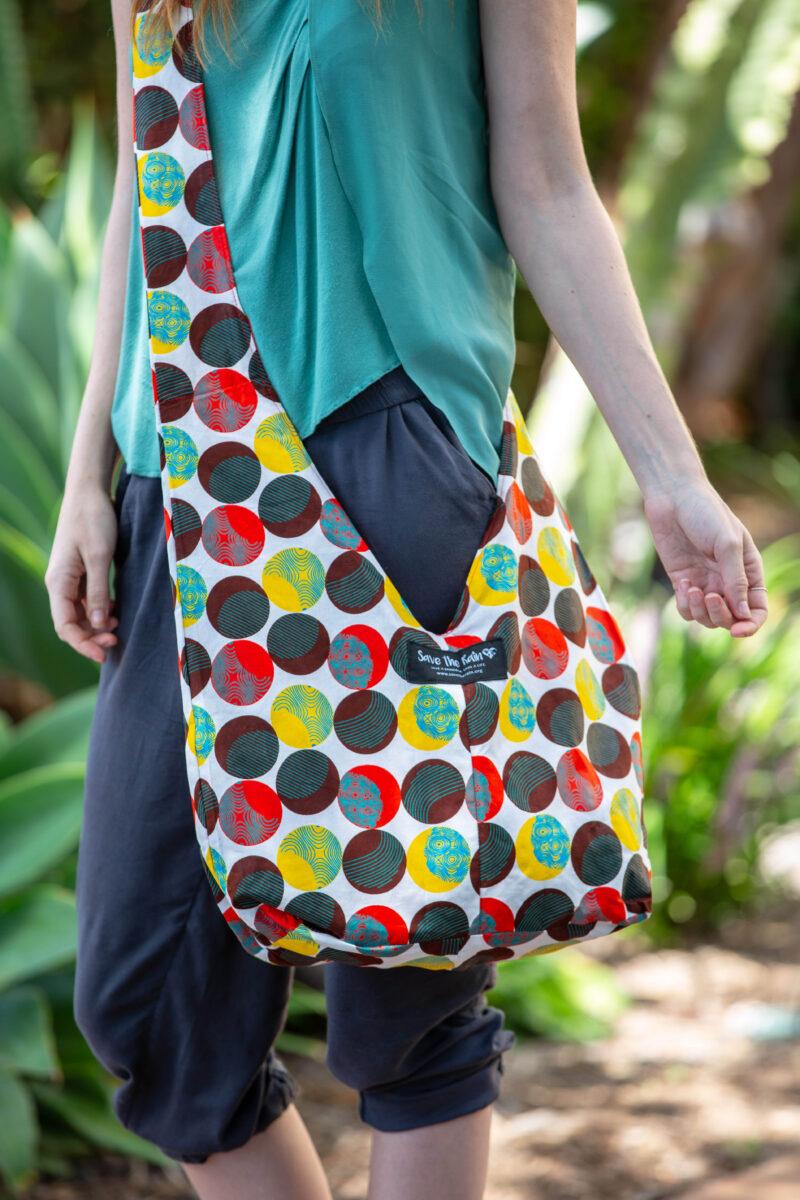 kitenge bag happiness save the rain